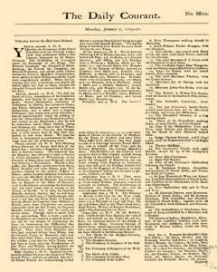 Daily Courant, January 05, 1730, Page 1
