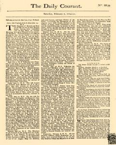Daily Courant, February 07, 1730, Page 1