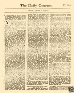 Daily Courant, February 09, 1730, Page 1