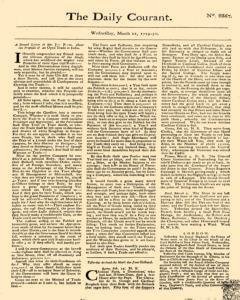 Daily Courant, March 11, 1730, Page 1