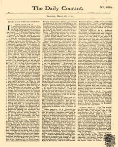 Daily Courant, March 28, 1730, Page 1