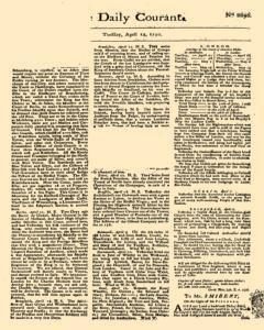 Daily Courant, April 14, 1730, Page 1