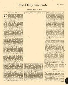 Daily Courant, April 20, 1730, Page 1
