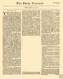 Daily Courant, April 24, 1730, Page 1