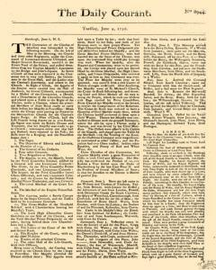 Daily Courant, June 09, 1730, Page 1