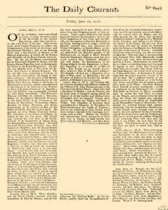Daily Courant, June 12, 1730, Page 1