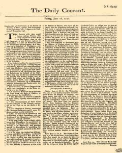 Daily Courant, June 26, 1730, Page 1