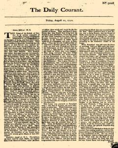 Daily Courant, August 21, 1730, Page 1