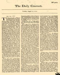 Daily Courant, August 25, 1730, Page 1