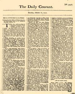 Daily Courant, October 17, 1730, Page 1