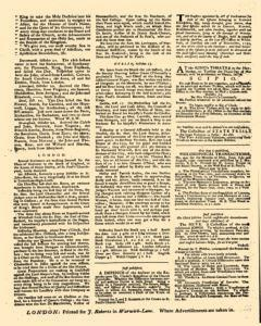 Daily Courant, October 24, 1730, p. 3