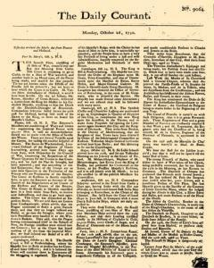 Daily Courant, October 26, 1730, Page 1