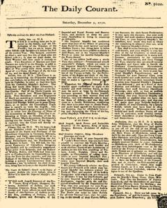 Daily Courant, December 05, 1730, Page 1