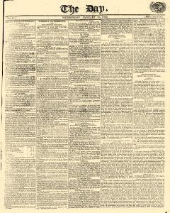 Day, January 18, 1809, Page 1