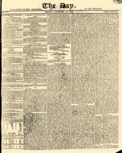 Day, January 27, 1809, Page 1
