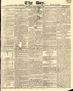Day, January 28, 1809, Page 1