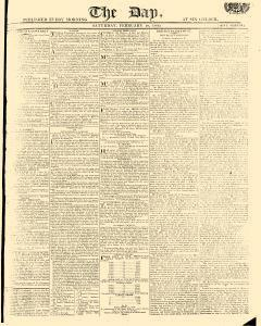 Day, February 18, 1809, Page 1