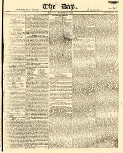 Day, March 10, 1809, Page 1