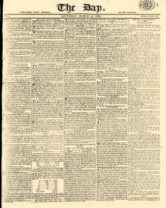 Day, March 25, 1809, Page 1