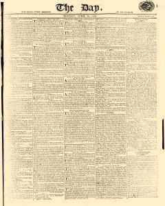 Day, April 10, 1809, Page 1
