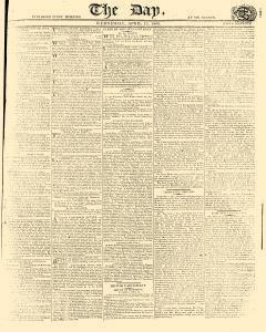 Day, April 12, 1809, Page 1