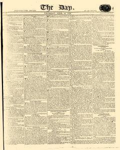 Day, April 13, 1809, Page 1