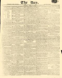 Day, April 14, 1809, Page 1
