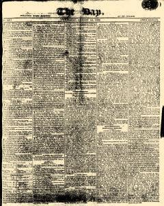 Day, August 10, 1809, Page 1