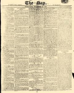 Day, September 20, 1809, Page 1