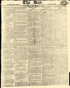 Day, September 27, 1809, Page 1