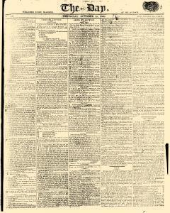 Day, October 19, 1809, Page 1