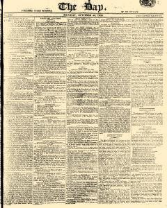 Day, October 30, 1809, Page 1