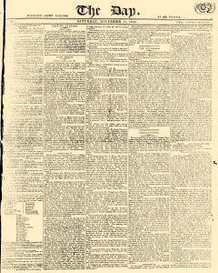 Day, November 11, 1809, Page 1