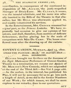 Dramatic Censor, April 19, 1800, Page 2