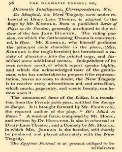 Dramatic Censor, April 19, 1800, Page 22