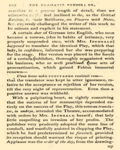 Dramatic Censor, April 26, 1800, Page 22