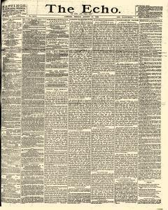 Echo London Middlesex, August 31, 1888, Page 1