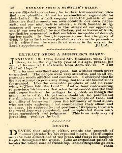 Evangelical Magazine, January 01, 1800, Page 20