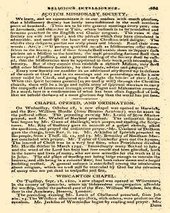 Evangelical Magazine, November 01, 1800, Page 42