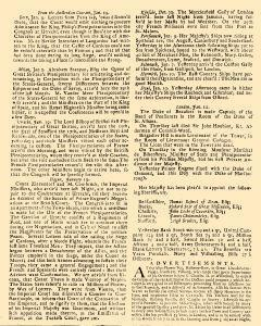 Evening Post, January 10, 1712, Page 2