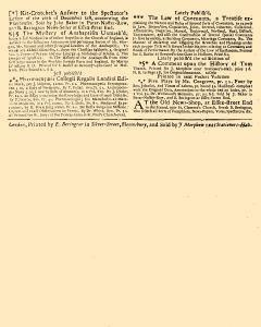 Evening Post, February 02, 1712, Page 3