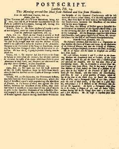 Evening Post, February 12, 1712, Page 3