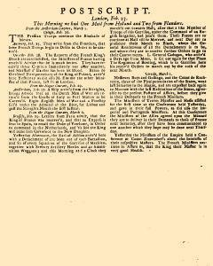 Evening Post, February 21, 1712, Page 3