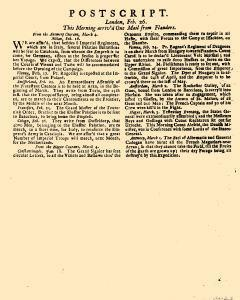 Evening Post, February 23, 1712, Page 3