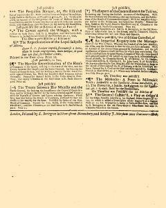 Evening Post, March 13, 1712, Page 3
