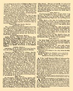 Evening Post, March 18, 1712, p. 2