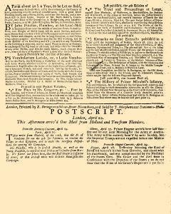 Evening Post, April 19, 1712, Page 3