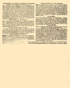 Evening Post, April 22, 1712, Page 3