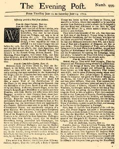 Evening Post, June 12, 1712, Page 1