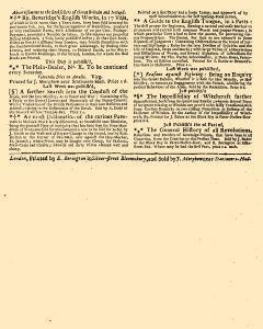 Evening Post, June 12, 1712, Page 3